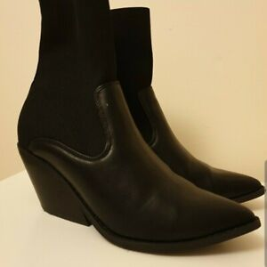 Sock Boots Western Cowboy Boot (ASOS) Size 7