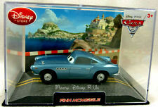 New Disney Store Pixar CARS 2 Finn Mcmissile 1:43 Diecast In Collectors Case