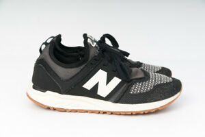 New Balance WRL247TE B Black Ivory Gum Womens Running Shoes 8 Sneakers WRL247TEB