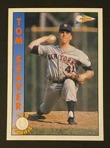 1992 Pacific Seaver Inserts 6 #1 Tom Seaver/Rookie Phenomenon - New York Mets