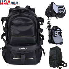Extra Large Digital Camera Shoulder Backpack SLR DSLR Bag for Nikon Sony Canon