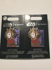 Disney Star Wars Queen Amidala Pin Set by Her Universe– Limited Release