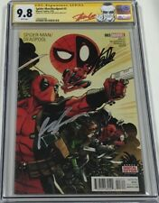Spider-man / Deadpool #3 Signed by Stan Lee & Rob Liefeld CGC 9.8 SS Red Label