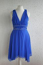 Ärmelloses Kleid Trägerkleid von Jane Norman aus England, blau, Gr. M   38 78f737ea22