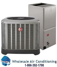 Rheem 3 Ton 16 Seer Central Air Conditioning System With 7 KW Heating Element