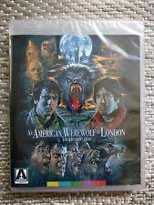 New An American Werewolf In London Blu Ray Arrow Video John Landis Horror Film