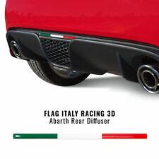 Stripe Striscia Adesiva 3D Tricolore Italia per Estrattore 500 Abarth
