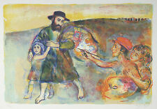 """""""The Artist"""" by Walter Spitzer Signed Limited Edition of 200 Lithograph Print"""