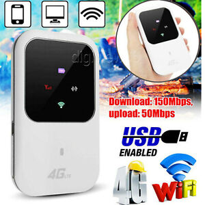 Unlocked Portable 4G LTE WIFI Router 150Mbps Mobile Broadband WIFI Hotspot