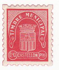 Sello Local Guerra Civil Castellon -Cat. Allepuz 64.  ORD:1745