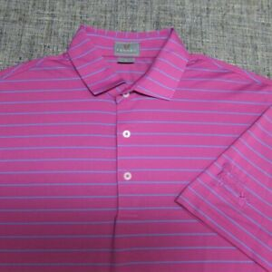 FENNEC POLY SPANDEX GOLF SHIRT--L--SHELL HOUSTON OPEN--AWESOME COLORS!!