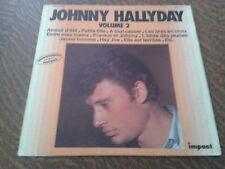33 tours johnny hallyday volume 2 amour d'ete