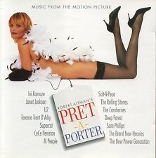 Soundtrack: Pret-A-Porter (Ready To Wear) (1994 US 14 Track CD w/12 Page Insert)