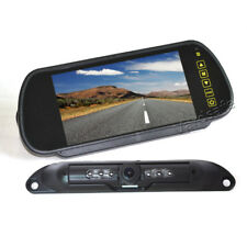 Vardsafe VS408K License Plate Backup Camera System with Clip-on Mirror Monitor