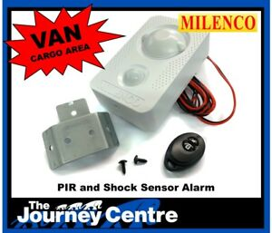 Motorhome Caravan Van Cargo Alarm Security 12v PIR Remote Panic Feature Milenco