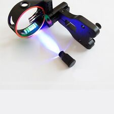 Archery CNC Bow Sights 5 Pins with LED Light for Compound Bow/Recurve Bow
