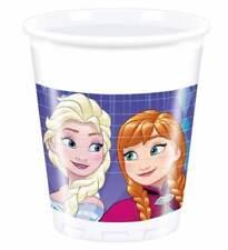 Die Eiskönigin 8 Becher Plastikbecher Trinkbecher Einwegbecher Disney Frozen