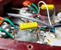 .022uf polyester tone capacitor 630V 2Pc. set.