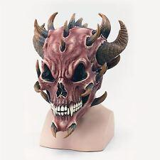 Adult Halloween Devil Skull Demon Mask Fancy Dress Costume Halloween Scary Mask