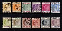 Cyprus stamps #48 - 59, complete set, mint & used, wmk. 3, '04-'07, SCV $316.10
