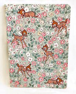 Cath Kidston Disney Bambi Notebook Ditsy Stationery Paper Pad Diary Journal