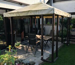 Gartenpavillon 3x3m, gebraucht, an Selbstabholer in Viernheim
