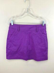 Puma Womens 2 Pounce Golf Skort Berry Purple Skirt Stretch 570559