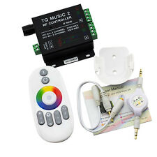 RF Music Touch Remote Controller 3.5MM Audio 15 Music Modes For RGB LED Strip