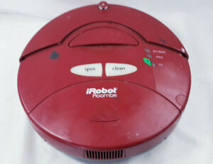 Irobot Roomba Red 4100 Robotic Vacuum Cleaner
