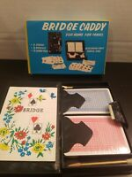 Vintage 1960s Bridge Card Set Travel Case  New Old Stock  Made in Hong Kong   B2