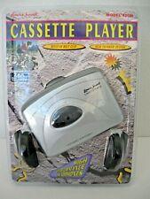 Lenoxx Sound Personal Cassette Player w/ Headphones Model 820M Color Silver Nip