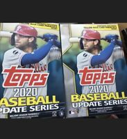 (2) 2020 Topps Update Walgreens Hanger Box. New/Unopened. 67 Cards Per Box F/S
