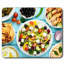 Computer Mouse Mat - Greek Food Traditional Olives Office Gift #21646