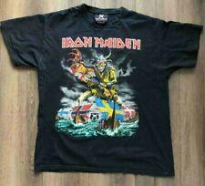 IRON MAIDEN T Shirt Vintage Original - Final Frontier 2011 World Tour Large