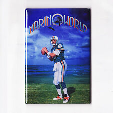DAN MARINO / MARINOWORLD - POSTER MAGNET (nike costacos miami dolphins jersey)
