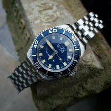 Scurfa D1 Dive Watch Quartz limited sold out ND513RD blue 300m WR with bracelet