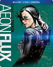 Aeon Flux (Blu-ray/Dvd, 2-Disc set + Digital copy, 2018, Steelbook) New!