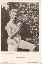 Martine Carol UFA Postkarte 50er Jahre FK 2204 + P 2529
