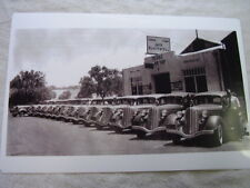 1935 HUDSON LINE UP IN FRONT OF DEALER  11 X 17  PHOTO  PICTURE