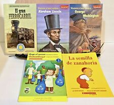 Lot of 5 Spanish & Bilingual Children's Books/ Dual Immersion Program