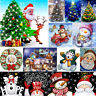 5D Full Drill Diamond Painting Cross Stitch Embroidery Crafts Christmas Series