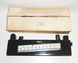 1 From 10 Liquid Pressure Gauge Vakuummeter Gauge Print For Air Gas GDR