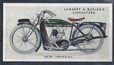 LAMBERT & BUTLER-MOTOR CYCLES-#33- NEW IMPERIAL