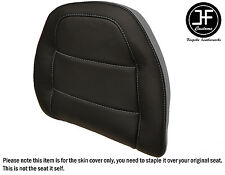STYLE2 GREY BLACK VINYL CUSTOM FOR HONDA GOLDWING GL 1500 88-00 BACKREST COVER