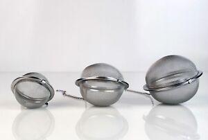 Tea Egg Infuser - Different Sizes - Diffuser Strainer Loose Leaf Herb Spice Cook