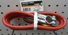 "7586DC 58"" #6 Dual Lead Battery Cable, Red, Free US Ship ~"
