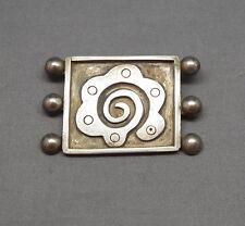 Wonderful Old Vintage TAXCO 980 Silver Pin Brooch