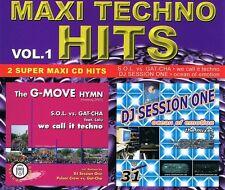 MAXI Techno Hits vol.1 - MAXI CD MCD-S.O.L. vs. GAT-Cha DJ session one
