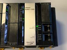 OMRON CPU NJ501-1320 OK TEST RUN