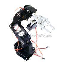 6DOF Robot Arm with Mechanical Claw + 5PCS U-Beam + Servos